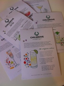 Chilgrove recipes