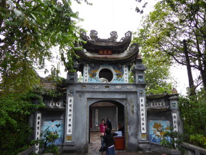 Temple at Hoàn Kiếm