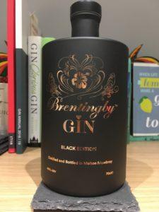 Brentingby gin bottle