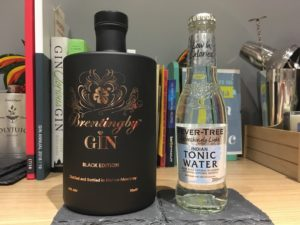 Brentingby gin and Fever Tree tonic