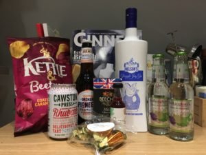 Craft Gin Club June box