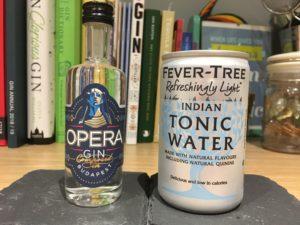 Opera gin and tonic