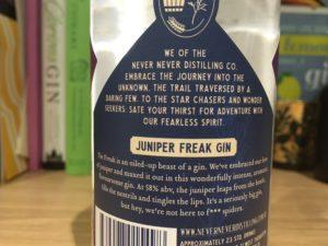 Juniper Freak label