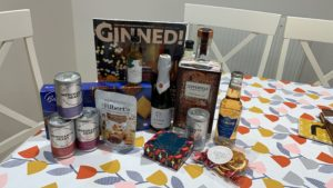 December Craft Gin Club delivery
