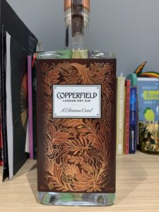 Surrey Copperfield Christmas Carol gin