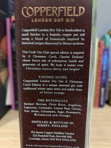 Surrey Copperfield label