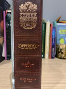 Copperfield book sleeve
