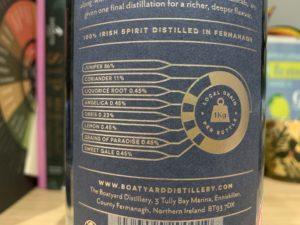 Boatyard gin