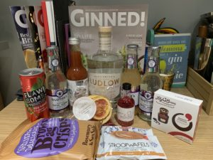 March 2020 Craft Gin Club box