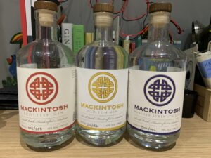 Mackintosh gin range