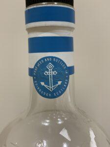 Seaside Edinburgh gin bottle detail