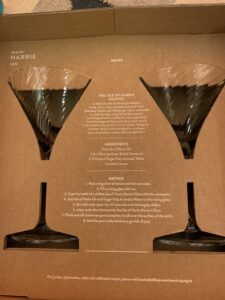 Isle of Harris martini glasses