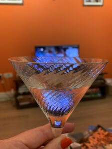 Just gin martini