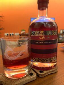 Gower gin negroni