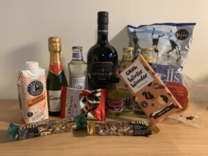 December Craft Gin Club box