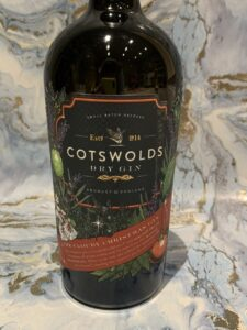 Cotswolds Cloudy Christmas gin