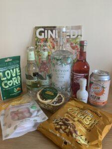 September Craft Gin Club box