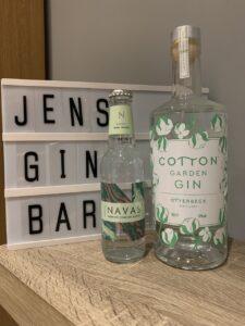 Cotton Garden gin and Navas tonic