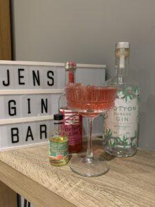 Secret Garden cocktail